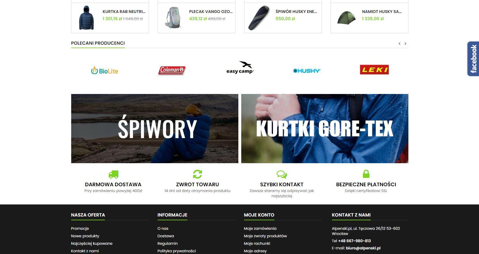 realizacja sklep internetowy