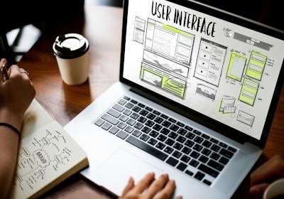 web development user interface