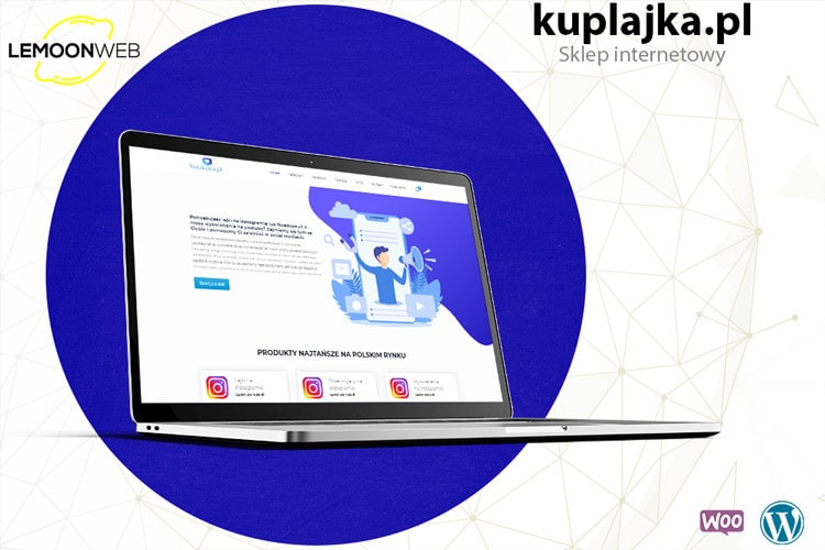 website implementation logo